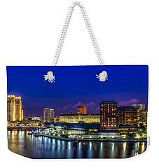 Harbor Island Nightlights Weekender Tote Bag