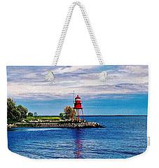 Harbor Light Weekender Tote Bag by Daniel Thompson