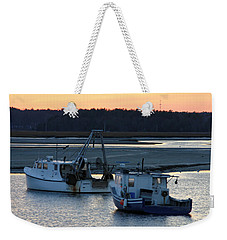 Harbor Nights Weekender Tote Bag