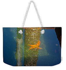 Harbor Star Fish Weekender Tote Bag