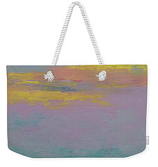 Harbor Sunset Weekender Tote Bag