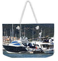 Harbour Docking Scene Weekender Tote Bag
