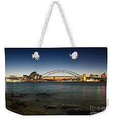 Harbour Night Weekender Tote Bag