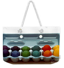 Weekender Tote Bag featuring the photograph Hard Boiled Spectrum  by Michael Hoard