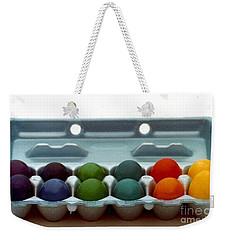 Hard Boiled Spectrum  Weekender Tote Bag by Michael Hoard