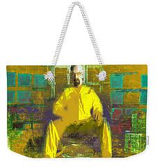 Weekender Tote Bag featuring the digital art Hard Work by Brian Reaves
