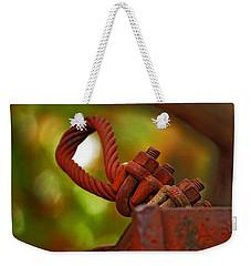 Hardware Weekender Tote Bag by Rowana Ray