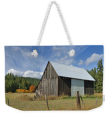 Hardy Creek Road Barn Weekender Tote Bag