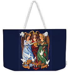 Hark The Herald Angels Sing Weekender Tote Bag