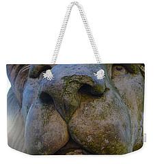 Harlaxton Lions Weekender Tote Bag by Tiffany Erdman