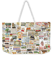 Harlem Collage Of Old And New Weekender Tote Bag by AFineLyne