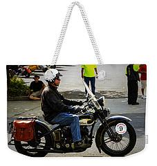 Harley 9 Weekender Tote Bag