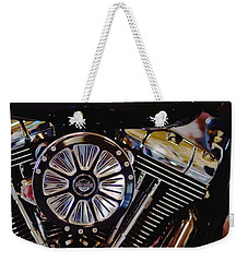 Harley Davidson Abstract Weekender Tote Bag