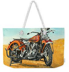 Harley Davidson Knucklehead Weekender Tote Bag
