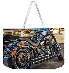 Harley Davidson Weekender Tote Bag by Steve Harrington