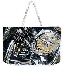 Harley Live To Ride Weekender Tote Bag