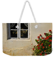 Flower Talk Weekender Tote Bag