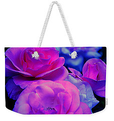 Weekender Tote Bag featuring the photograph Harmony In Color by Clayton Bruster