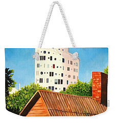 Harmony Of Old And New  Weekender Tote Bag