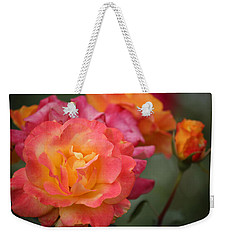 Weekender Tote Bag featuring the photograph Harmony by Rowana Ray