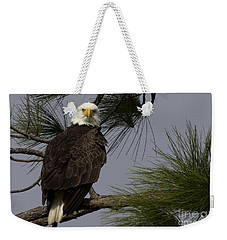 Harriet The Bald Eagle Weekender Tote Bag by Meg Rousher