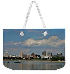 Harrisburg Skyline Weekender Tote Bag by Ed Sweeney