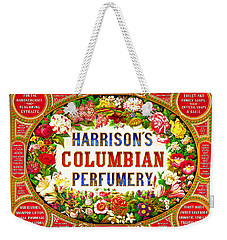 Harrison's Columbian Perfumery 1854 Weekender Tote Bag