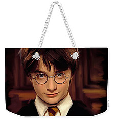 Harry Potter Weekender Tote Bag by Paul Tagliamonte