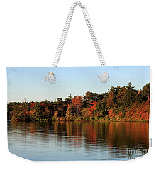 Hart Pond Golden Hour Weekender Tote Bag