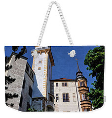 Weekender Tote Bag featuring the photograph Hartenfels Castle - Torgau Germany by Mark Madere