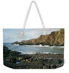 North Devon - Hartland Quay Weekender Tote Bag by Richard Brookes