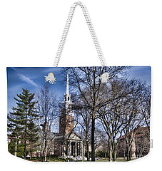 Harvard University Old Yard Church Weekender Tote Bag