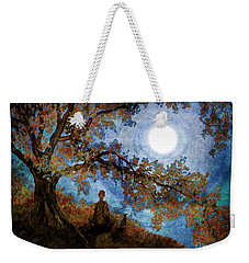 Harvest Moon Meditation Weekender Tote Bag