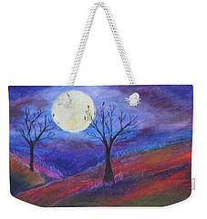 Harvest Moon 3 Weekender Tote Bag by Jeanne Fischer