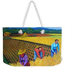 Harvest Season Weekender Tote Bag by Lorna Maza
