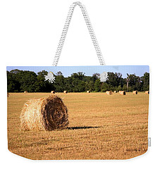 Weekender Tote Bag featuring the photograph Harvest Time by Gordon Elwell