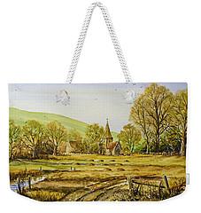 Harvesting Fields Weekender Tote Bag