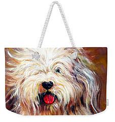 Harvey The Sheepdog Weekender Tote Bag