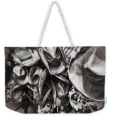 Hat Check Weekender Tote Bag