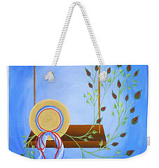 Hat On A Swing Weekender Tote Bag