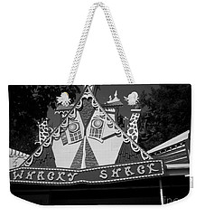 Weekender Tote Bag featuring the photograph Haunted House by Michael Krek