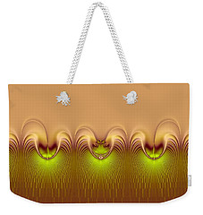 Weekender Tote Bag featuring the digital art Haute Couture by Wendy J St Christopher