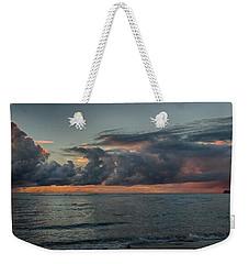 Hauula Sunrise Panorama Weekender Tote Bag