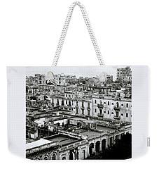 Havana City Weekender Tote Bag by Shaun Higson