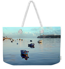 Weekender Tote Bag featuring the photograph Havana Maritime 2 by Steven Richman