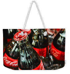 Have A Coke And Give A Smile By Diana Sainz Weekender Tote Bag