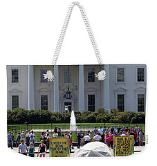 Weekender Tote Bag featuring the photograph Have A Nice Doomsday by Ed Weidman