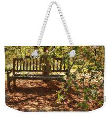 Have A Seat Weekender Tote Bag by Peggy Hughes