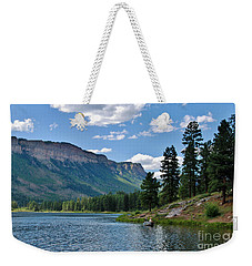 Weekender Tote Bag featuring the photograph Haviland Lake by Janice Rae Pariza