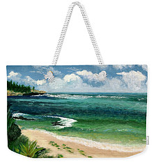 Hawaii Beach Weekender Tote Bag by Jamie Frier